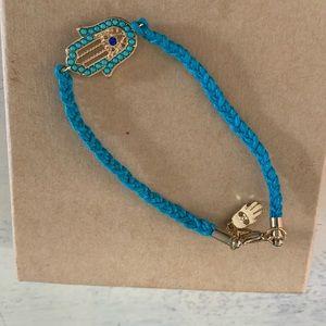 NWOT blue hamsa bracelet